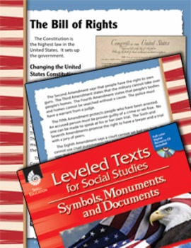 Leveled Texts: Bill of Rights (eLesson)
