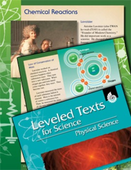 Leveled Texts: Chemical Reactions
