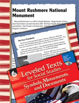 Leveled Texts: Mount Rushmore National Monument (eLesson)