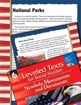 Leveled Texts: National Parks (eLesson)