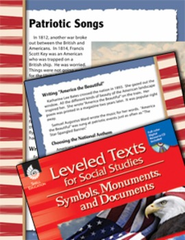 Leveled Texts: Patriotic Songs (eLesson)