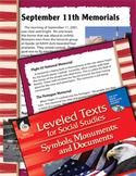 Leveled Texts: September 11 Memorials (eLesson)