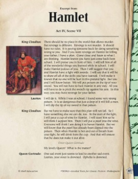 Leveled Texts Shakespeare--Hamlet-Act IV, Scene VII