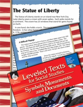 Leveled Texts: Statue of Liberty (eLesson)