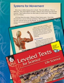 Leveled Texts: Systems for Movement