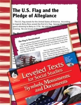 Leveled Texts: U.S. Flag and Pledge of Allegiance (eLesson)