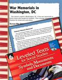 Leveled Texts: War Memorials in Washington, DC (eLesson)