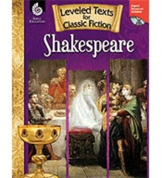Leveled Texts for Classic Fiction: Shakespeare (Physical Book)