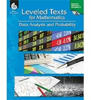 Leveled Texts for Mathematics: Data Analysis and Probability (Physical Book)