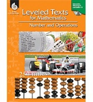 Leveled Texts for Mathematics: Number and Operations (Physical Book)