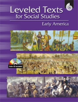 Leveled Texts for Social Studies Early America (eBook)