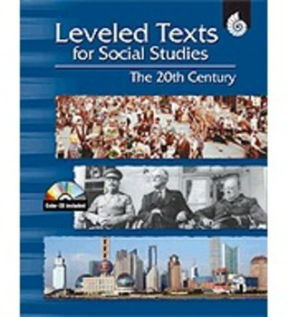 Leveled Texts for Social Studies: The 20th Century (Physical Book)