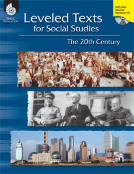 Leveled Texts for Social Studies: The 20th Century (eBook)