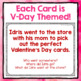 Leveled WH- Question Cards for Valentine's Day!