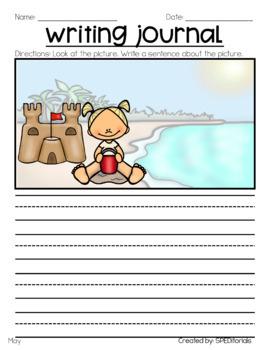Leveled Weekly Writing Journal (Level 4)