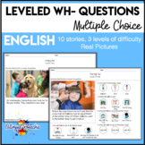 Leveled Wh- Questions