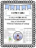 Leveled writing rubrics {History Guru}