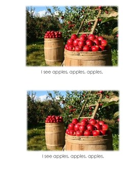 Levelled Books about Apple Picking (Levels A-D)