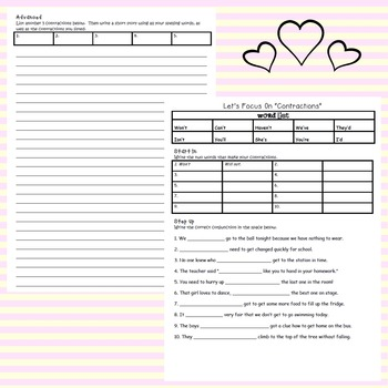 Differentiated Spelling Booklet Covering Spelling Sounds and Strategies