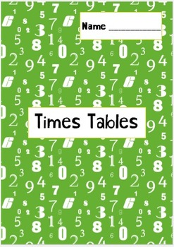 Levelled Times Tables Booklets SPEED MATHS