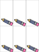 First Grade Leveled High Frequency Words 1-3 and 4-6