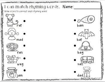 Levels 13-18 Common Core Aligned, Differentiated PRINT&GO Kindergarten Homework