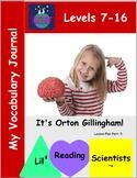 A Freebie!  My Vocabulary Journal (OG)