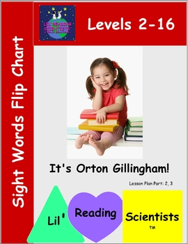 Sight Words Flip Chart Kit (OG)