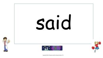Sight Words Flip Chart  (OG)