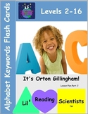 Alphabet Keyword Flash Cards (Beginning-Advanced) (OG)