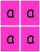 Alphabet Cards for Pocket Chart  (Beginning to Advanced) (OG)