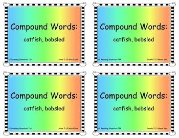 Decodable Words - Word Sort Kit (OG)