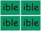 Suffix Word Sort Kit (Advanced)  (OG)