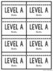 Levels A-Z Guided Reading Book Bin Labels {Printer-Friendl