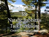 Levels Guide (I.) for Natalie Babbitt's Tuck Everlasting