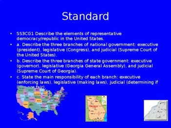 Levels and Branches of Government