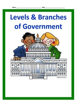 Levels and Branches of Government BUNDLE- 3rd SS