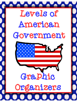 Levels of American Government Graphic Organizers