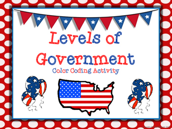 Levels of American Government (Federal, State, & Local) Co