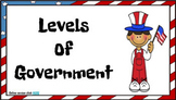 Levels of Government Digital Activity