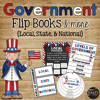 Levels of Government {Local, State, National}