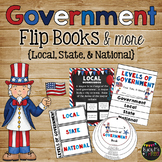 Levels of Government Local State and National Activities for 1st 2nd 3rd Grade