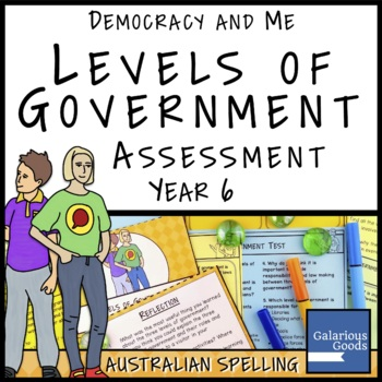 Levels of Government in Australia Assessment (Year 6 HASS)