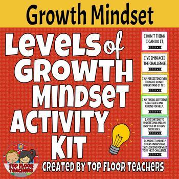 Levels of Growth Mindset Activity Kit