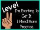 Levels of Learning Posters (Black and Colorful Series)