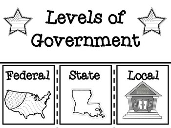 Levels of Louisiana's Government Flip Book