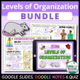 Levels of Organization Bundle - Distance Learning