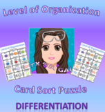 Levels of Organization Card Sort Puzzles (Differentiation)