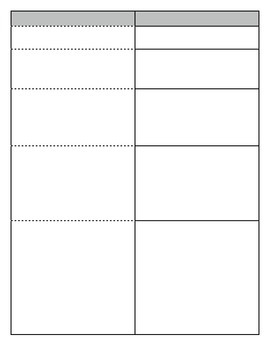 Levels of Organization Foldable