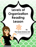 Levels of Organization Reading Lesson